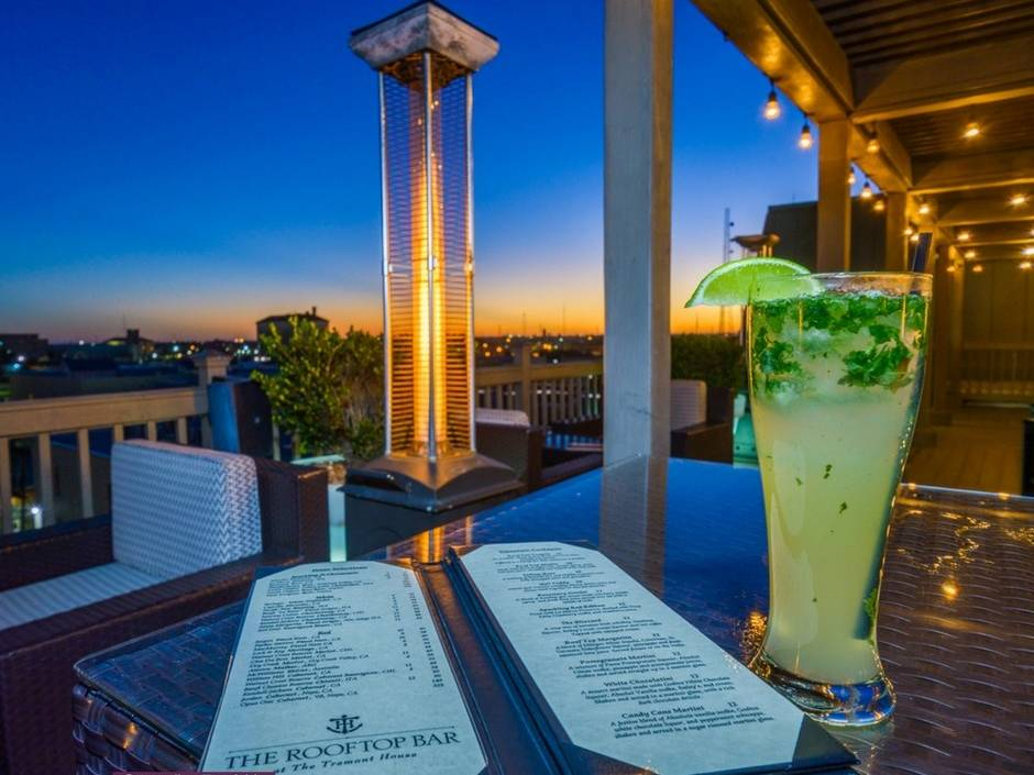 The Tremont House Rooftop Bar
