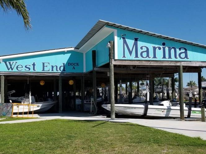 The West End Marina and Restaurants