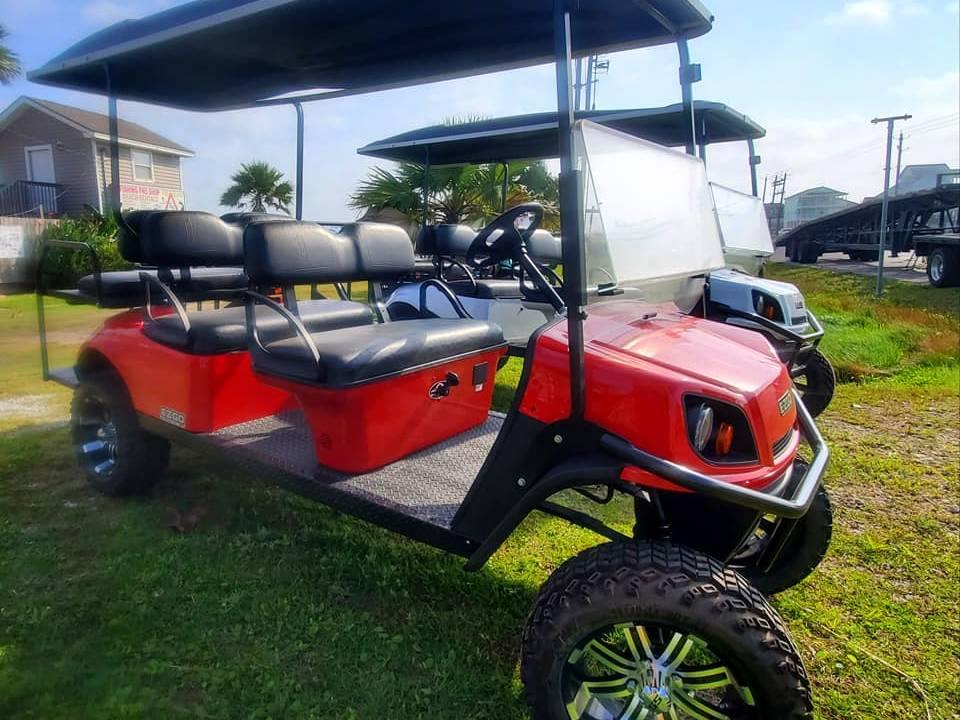 Southern Tide Golf Carts