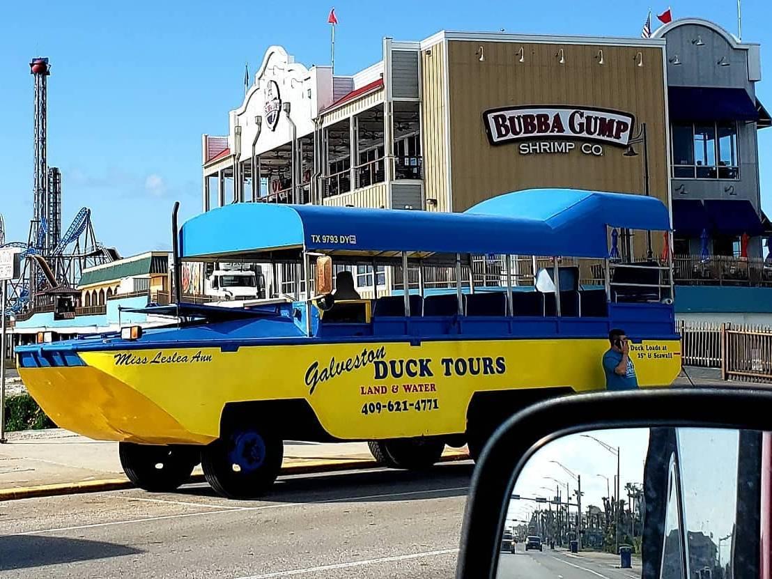 Galveston Duck Tour